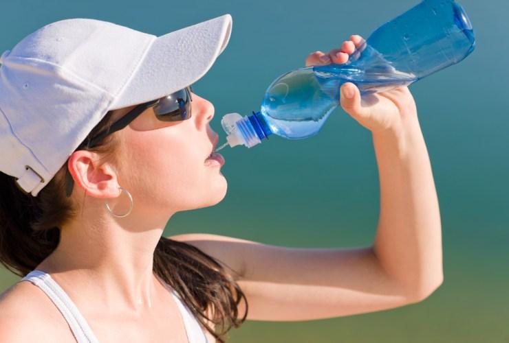 Beber água para emagrecer