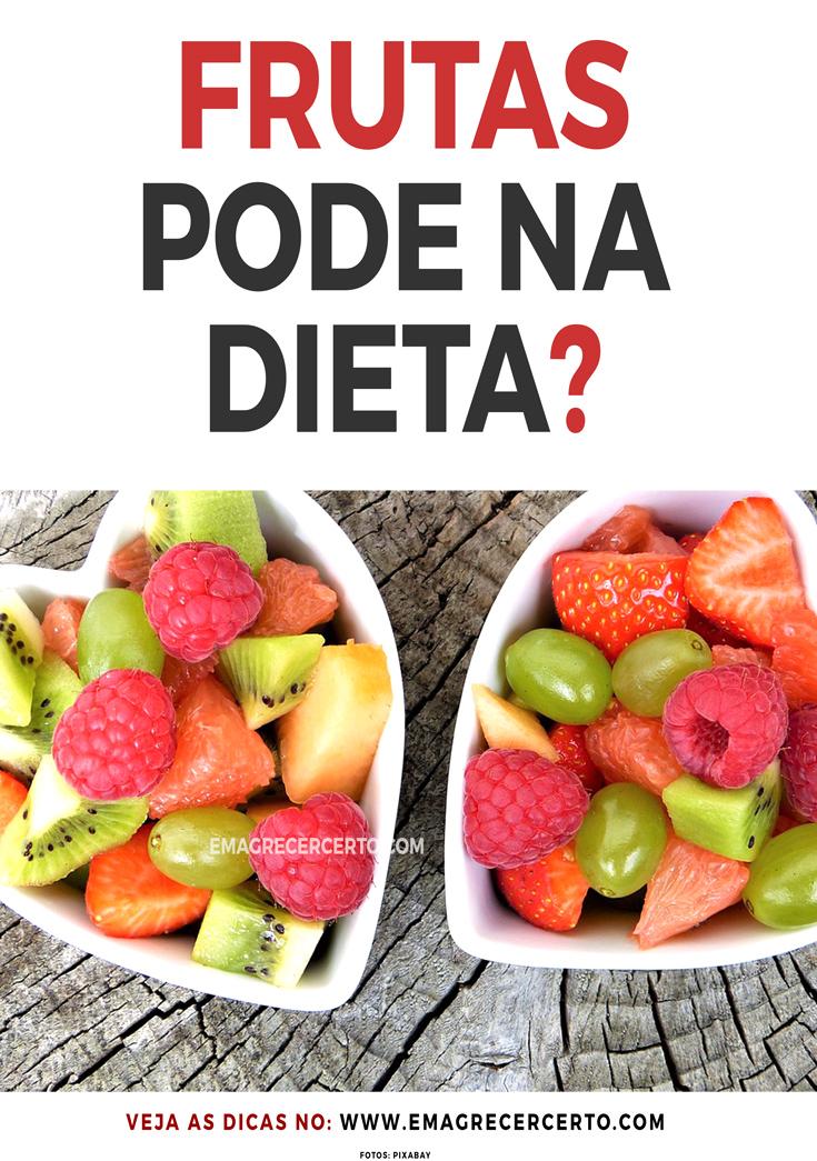 Frutas podem ou não podem na dieta