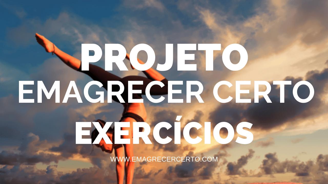 Projeto Emagrecer Certo Exercicios