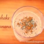 milkshake de banana