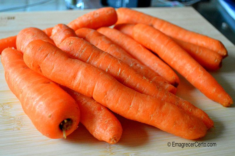 cenouras para emagrecer