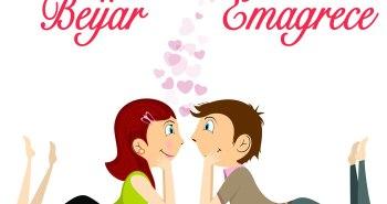 beijar emagrece