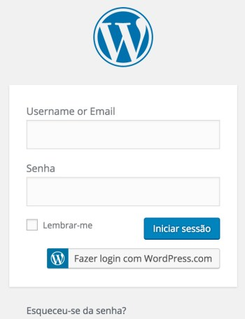 blog no wordpress