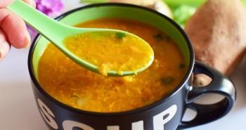 sopa batata doce
