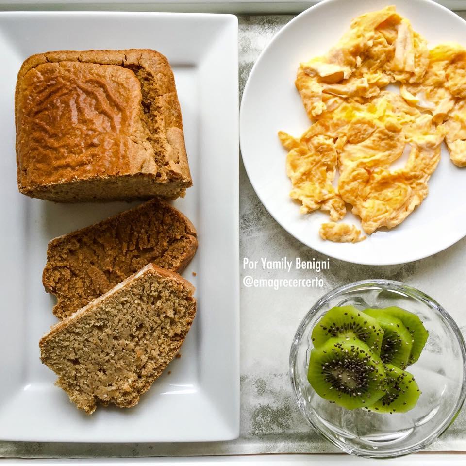 pão caseiro sem glúten