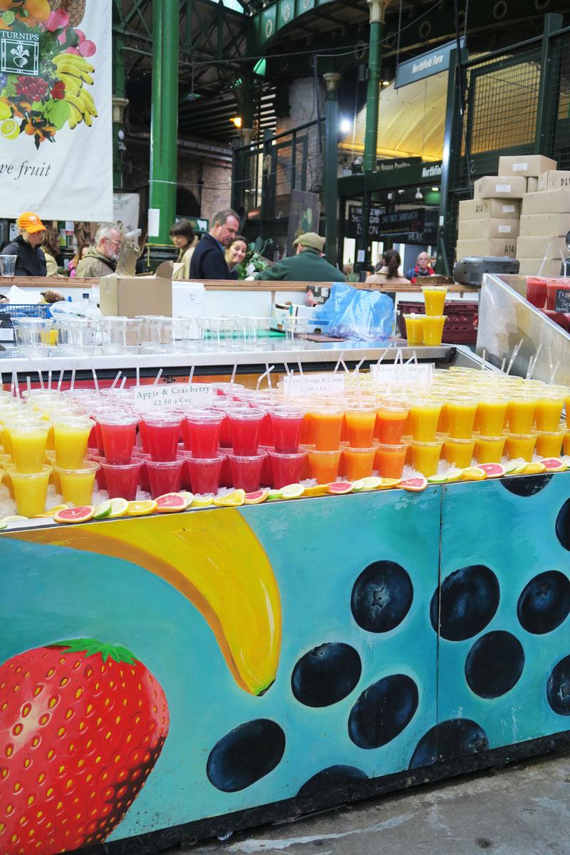 borough market london juices