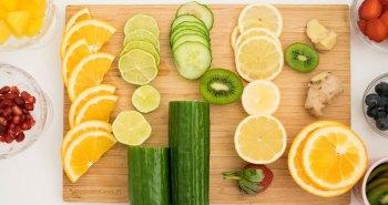 frutas ervas agua aromatizada