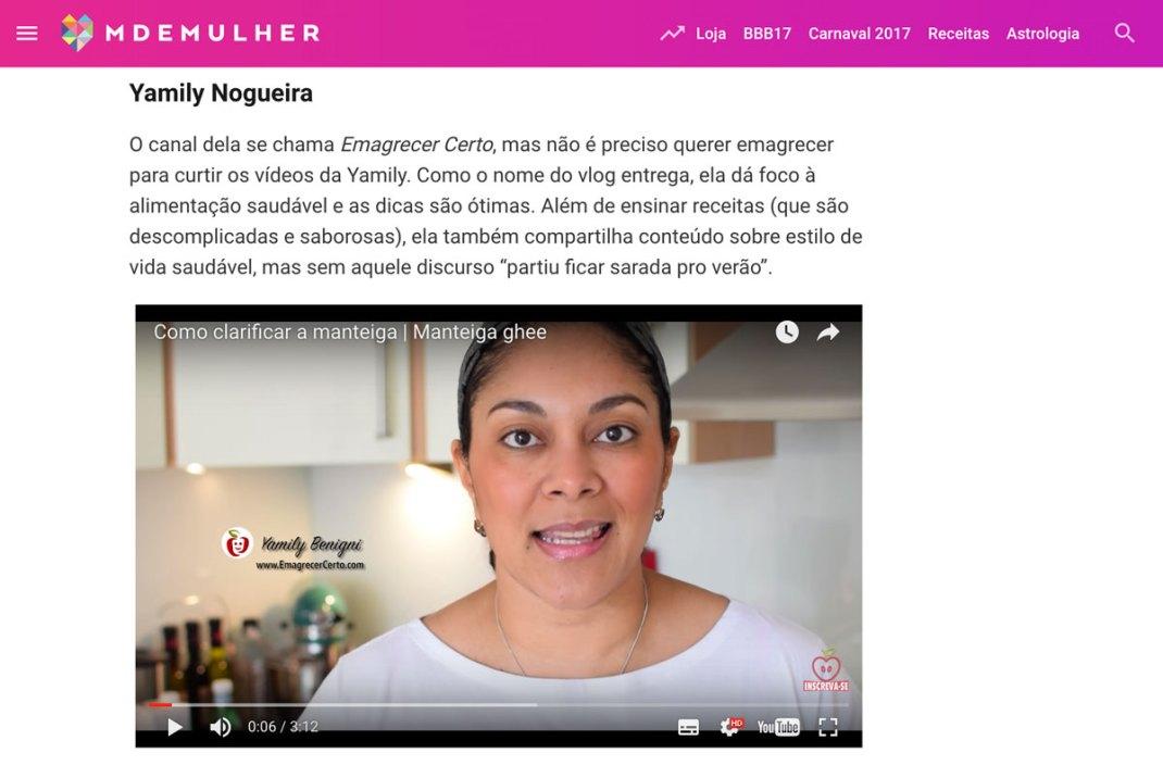 portal MdeMulher recomendacao