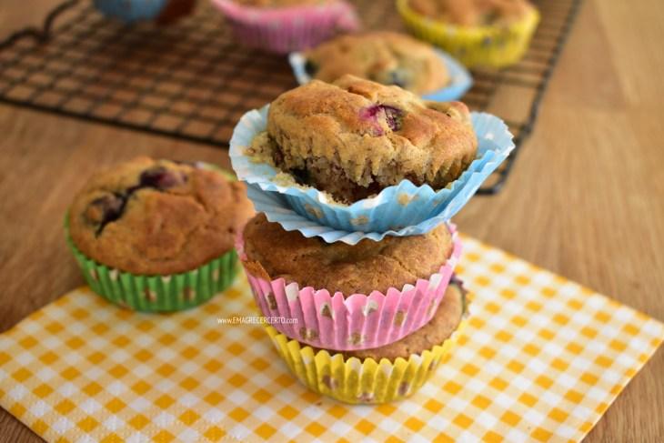 muffin de banana multifuncional blog emagrecer certo