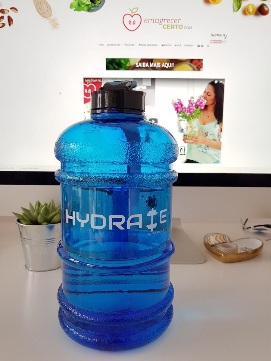 Mini galão garrafa de água emagrecercerto