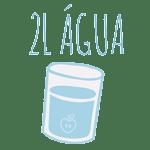 Beba 2L de água