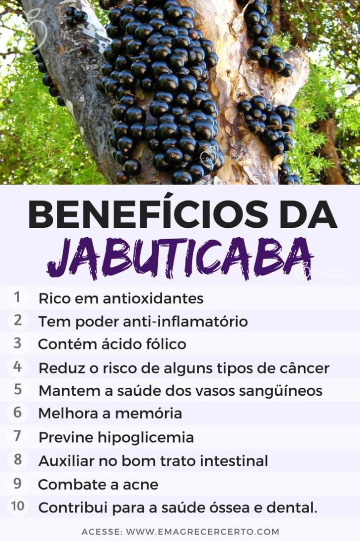 Benefícios das Jabuticabas   Blog EmagrecerCerto.com @emagrecercerto #jabuticaba # frutas