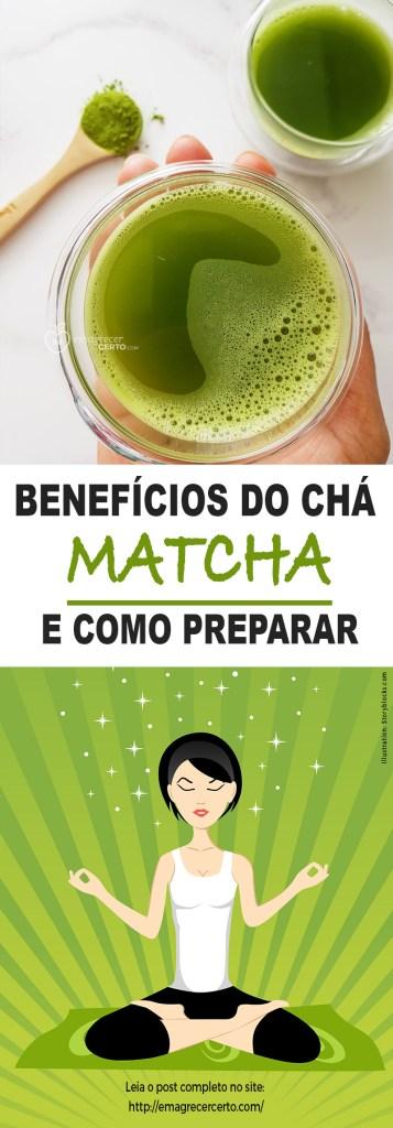 Benefícios do chá matcha | Blog Emagrecer Certo
