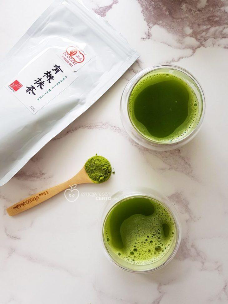 Chá Matcha para o metabolismo
