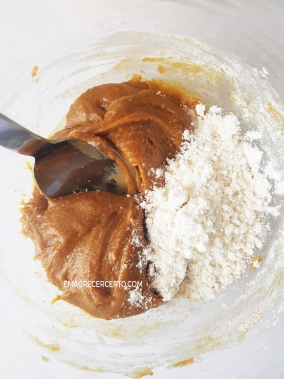 Docinho Paleo com farinha de coco, sem gluten, sem lactose, vegano