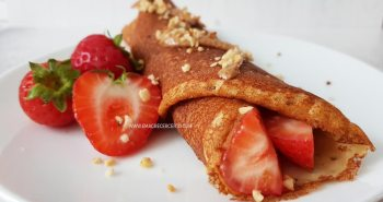 Panqueca lowcarb com 4 ingredientes | Blog Emagrecer Certo