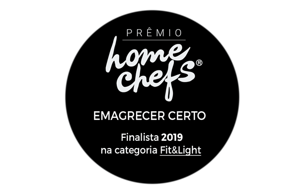Prêmio Home Chefs - categoria Fit & Light - Blog Emagrecer Certo