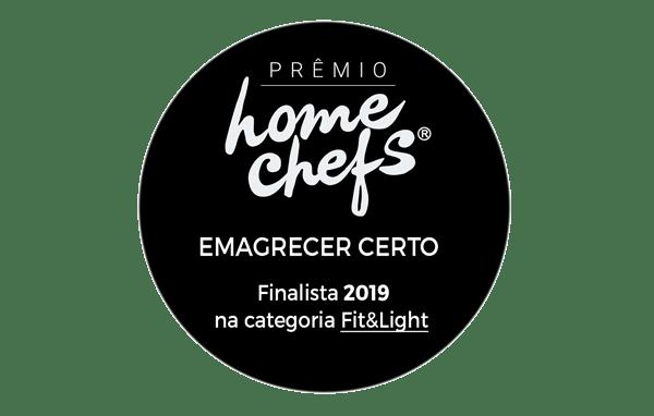 Prêmio Home Chefs - categoria Fit & Light - Blog Emagrecer Certo