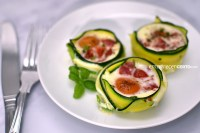 Café da manhã low carb | Cestinha de ovos | Blog Emagrecer Certo