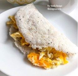 Tapioca feita em casa #receitasemgluten #tapioca
