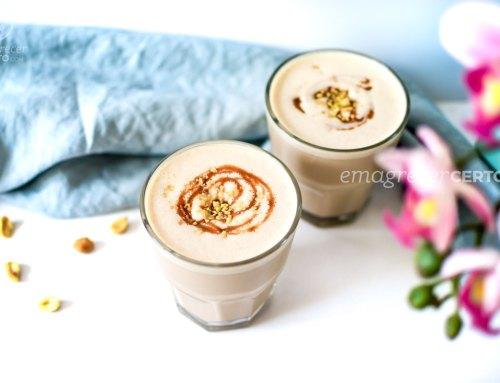 Milkshake Fit de Amendoim | com Proteína | Pré-treino
