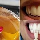 Adeus dentes amarelos