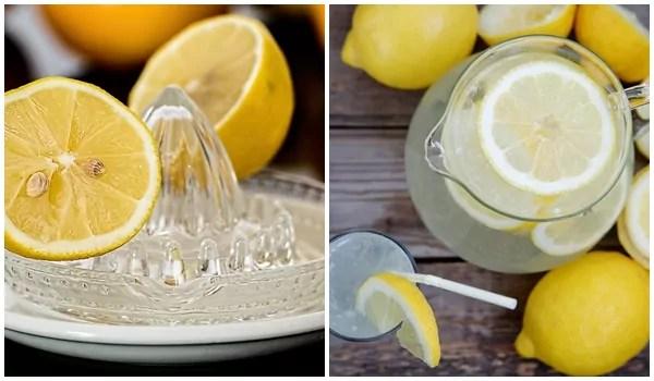 Limonada para emagrecer e desintoxicar