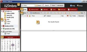 Zimbra Desktop Client
