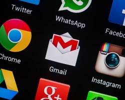 Gmail App on Smartphone
