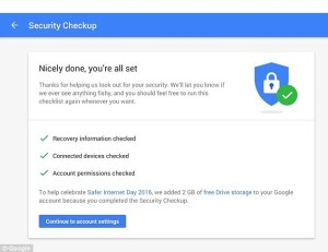 Gmail security check