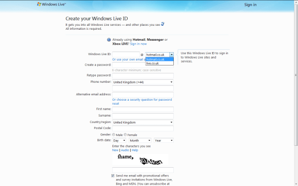 Hotmail Sign in Login In Information Gmail Login and