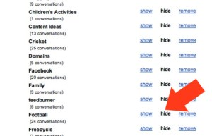 Gmail New Labels Hide