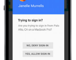 Gmail Yes or No Prompt