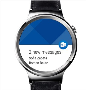 Outlook on iWatch