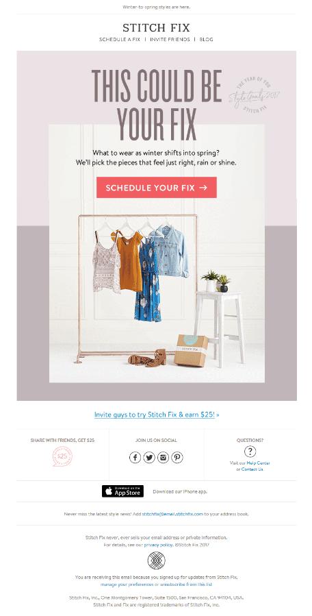 Stitch Fix Static email