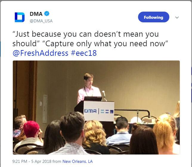 DMA EEC 2018 Key Takeways