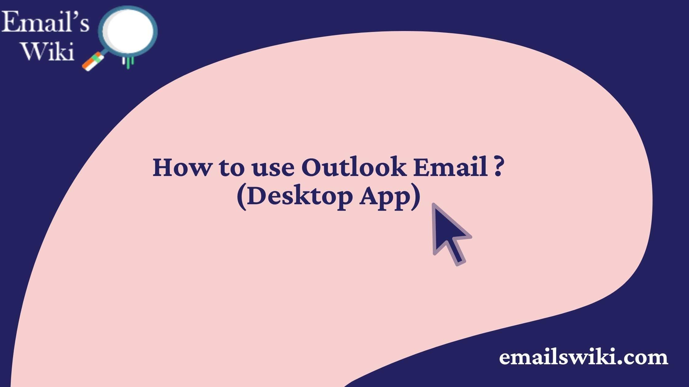 outlook desktop app