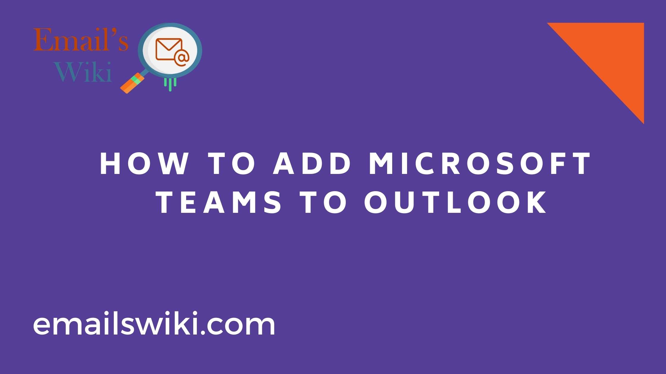 Add Microsoft Teams to Outlook