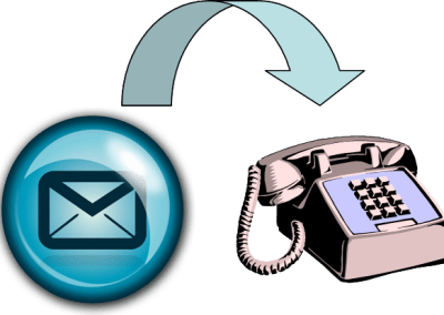 VIDEO: How to make a phone call using an email interface