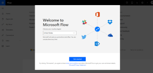 Welcome to Microsoft Flow