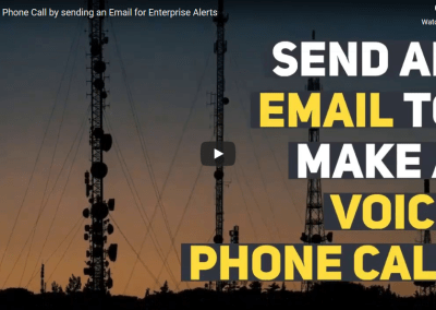 Make a Phone Call by using an Email Interface