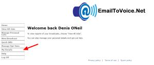 EmailToVoice.Net Details