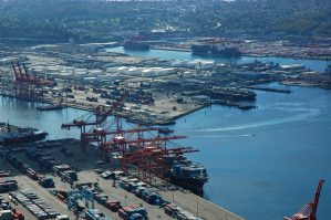 Supply Chain Shipping harbor