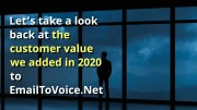 Video: 2020 Recap of EmailToVoice.Net New Features