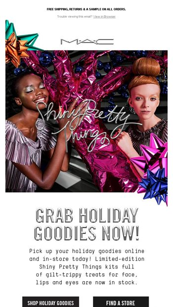New Shiny Pretty Holiday Kits Ndash Now Online And In S