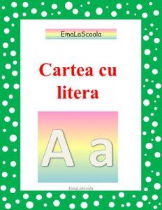 carte cu litera A