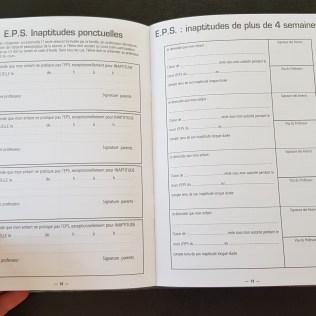 agenda elevului