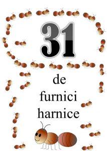 numere naturale pana la 31