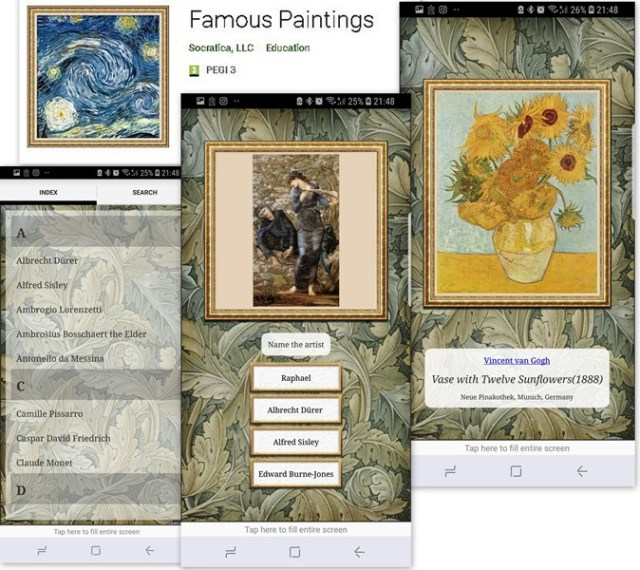 aplicatii de pictura