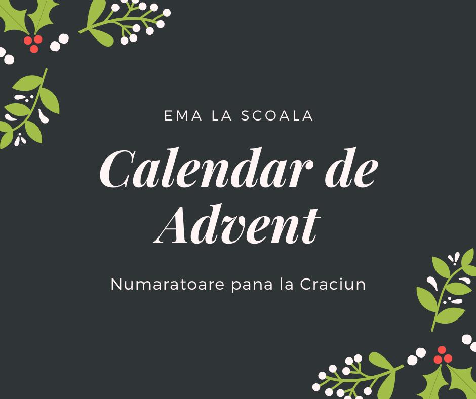 calendar de advent